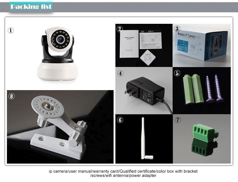 Camera IP giam sat trong nha NC623-QA-4