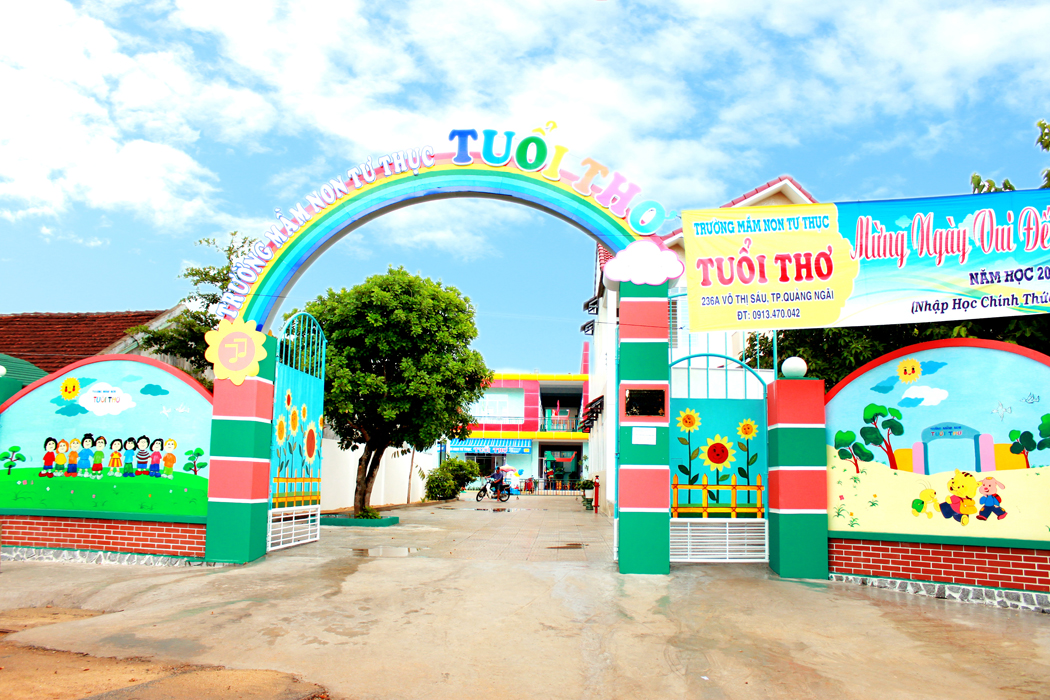 Image result for trường mầm non