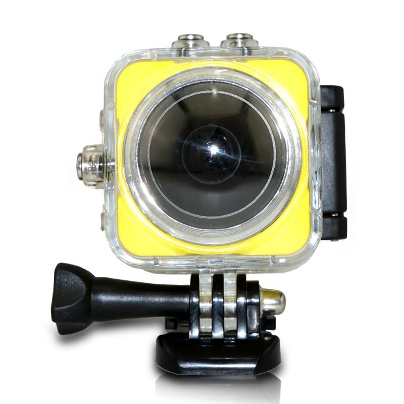 Camera thể thao QA360A quay 4k 360 độ + WIFI 2.0