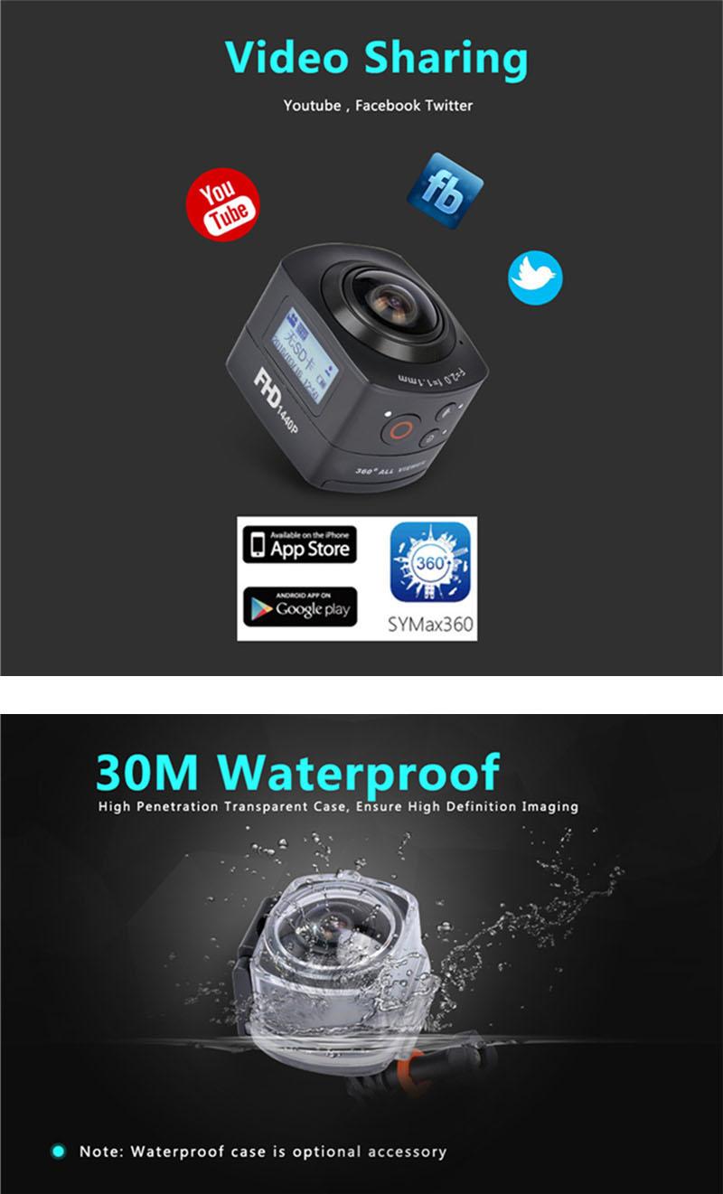 Sport camera 360 6cameratechvn