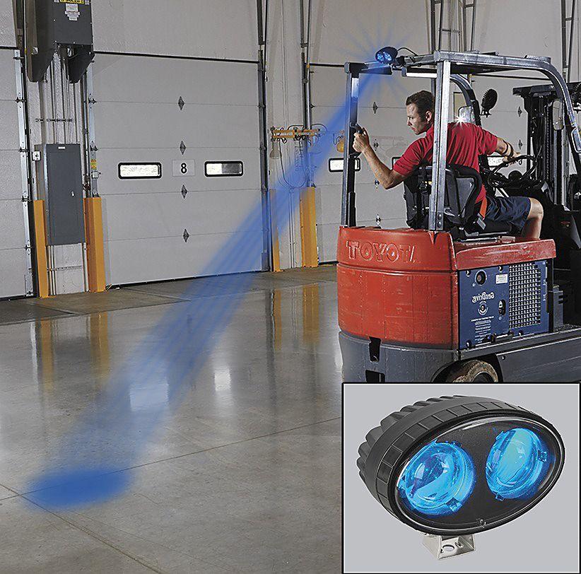 Đèn LED cảnh báo an toàn xe nâng