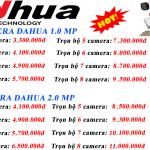 Lắp đặt trọn bộ Dahua analog