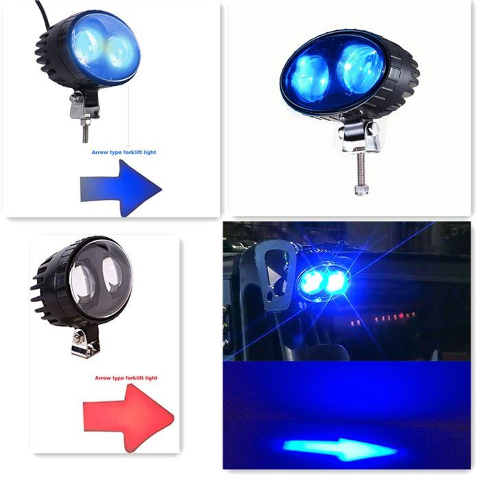 LED mui tên cho xe nâng 4