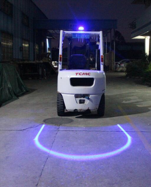 Đèn LED an toàn chữ U cho xe nâng